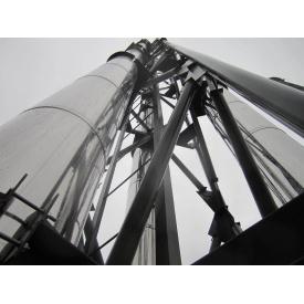 Дымоход промышленный 350/420 мм из нержавеющей стали