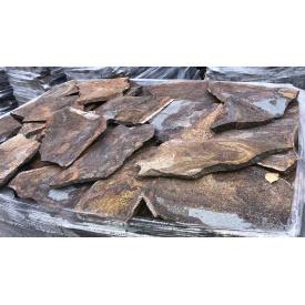 Облицювальна рваний камінь Alex Group Закарпатський андезит 2,5 см оливковий