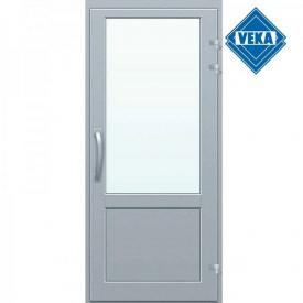 Пластиковая дверь Veka 900х2000 мм белый