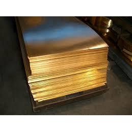 Лист латунный 25х600х1500 мм ЛС59-1