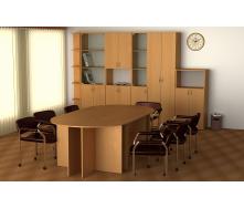 Корпусная мебель Компанит модульный набор для офиса и школы
