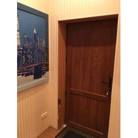 Металлопластиковая Міжкімнатні двері Віконда 60 мм Класик Золотий Дуб