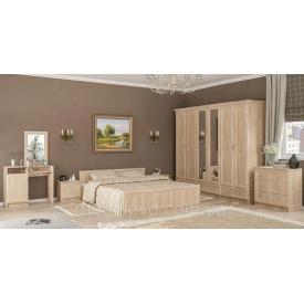 Спальня Соната 6Д дуб самоа Мебель-Сервис
