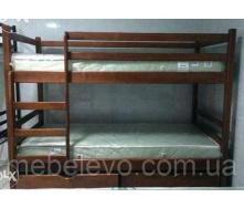 Двухъярусная кровать Кенгуру орех Мебель-Сервис