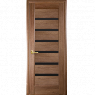 Міжкімнатні двері Новий Стиль Ліннея BLK