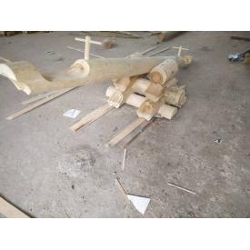 Качеля-балансир из оцилиндрованного бревна 3 м