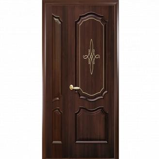 Межкомнатная дверь NS Рока П/Г Голд Новый Стиль Двустворчатая