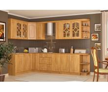 Кухня Оля 2,6 м со столешницей ольха Мебель-Сервис
