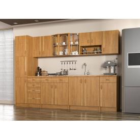 Кухня Алина 2,6 м со столешницей ольха Мебель-Сервис
