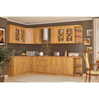 Кухня Оля 2,0 м со столешницей ольха Мебель-Сервис
