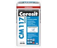 CM117 White Клей для мозаїки мармуру і світлого каменю (білий) 25 кг