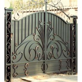 Ворота кованые закрытые Б0052зк Legran