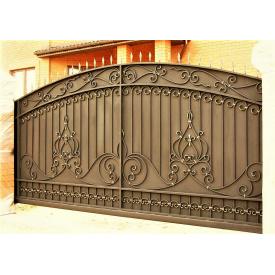 Ворота кованые закрытые Б0032зк Legran