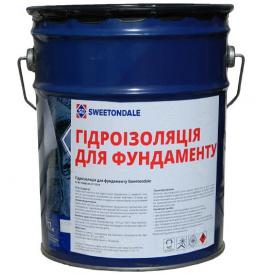 Мастика для гидроизоляции фундамента Sweetondale 17кг
