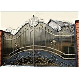 Ворота кованые закрытые Б0018пл Legran