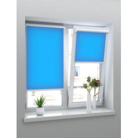 Тканевые ролеты Виконт синий 500х1400х1800 мм