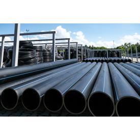 Труба для воды 315 мм Планета Пластик SDR 17 полиэтиленовая для холодного водоснабжения