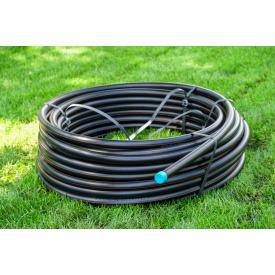 Труба для воды 20 мм Планета Пластик SDR 11 полиэтиленовая для холодного водоснабжения
