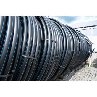Труба для води 90 мм Планета Пластик SDR 17 поліетиленова для холодного водопостачання