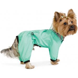 Дождевик Pet Fashion Космос XS мятный