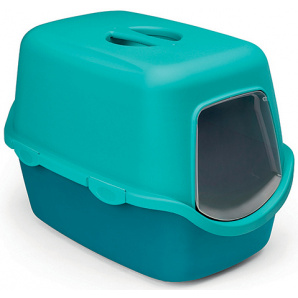 Туалет Stefanplast Cathy 56x40x40 см Бирюзовый/голубой