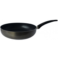 Сковорода глубокая Gusto Xylan GT-2101-24 24 см черная