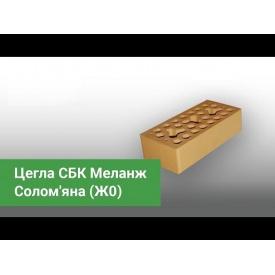 Кирпич лицевой СБК Меланж 250х120х65 мм