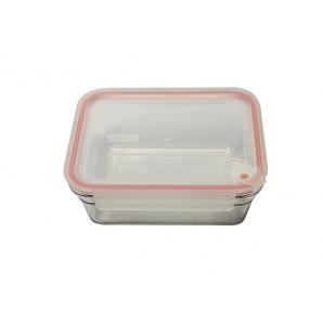 Скляний контейнер для запікання Glasslock з герметичною кришкою прямокутний 480 мл