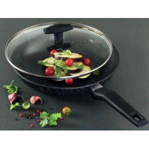 Сковорідка з кришкою Tiross TS -1252-Р 28 см
