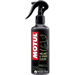 Средство для очистки внешних поверхностей мото шлема Motul M1 Helmet & Visor Clean 250 мл