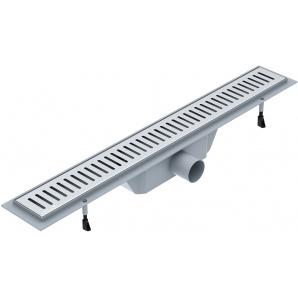 Трап горизонтальный VOLLE 90-22-704 700 мм c решеткой линия