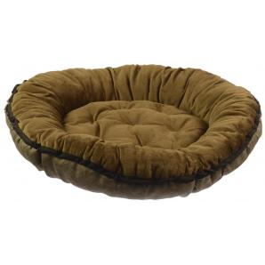 Лежанка Фортнокс FX Home для котов и собак 56х56х10 см Коричневый