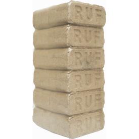 Брикети RUF вакуумне пакування по 10 кг