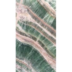 Плита онікса зеленого кольору Jade в слябах