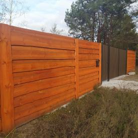 Забор из дерева 2 м