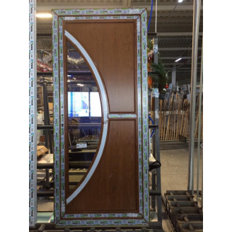 Двері міжкімнатні металопластикові 760х2000 мм
