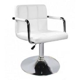 Крісло Артур SDM 720-840х450х420 мм екошкіра колір білий