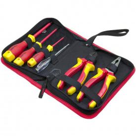 Комплект диэлектрического инструмента Tolsen Premium VDE 6 предметов