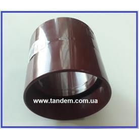 З`єднувач труби INES 80 мм червоний