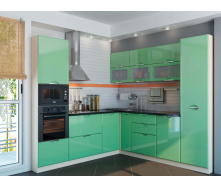 Кухня Софія Люкс комплект 2м салатова Сокме
