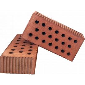Кирпич керамический рядовой одинарный 20% пустотность
