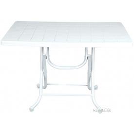 Стол складной Irak Plastik 70x115 Белый