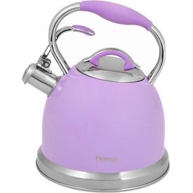 Чайник Fissman Felicity со свистком 2.6 л Фиолетовый (5960)