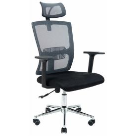 Кресло Зума ТМ Ричман сетка серая