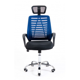 Кресло Бласт ТМ Ричман сетка синяя