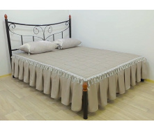 Ліжко металеве Луїза 160 Метал дизайн