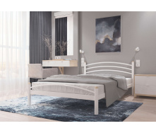Кровать металлическая Маргарита 140 Металл дизайн