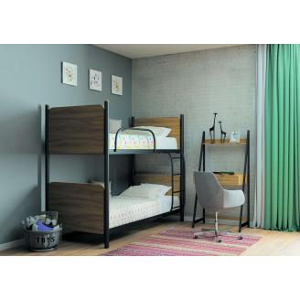 Кровать двухъярусная Арлекино 90 Металл-дизайн металлическая
