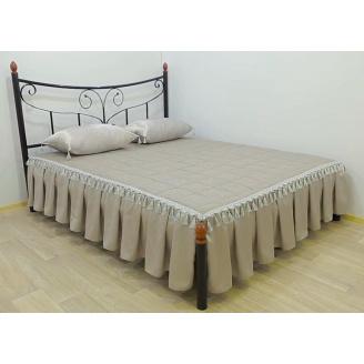 Ліжко металеве Луїза 180 Метал дизайн