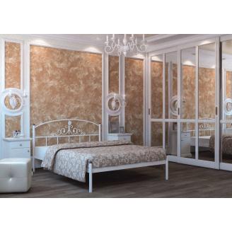 Кровать металлическая Кассандра 140 Металл дизайн